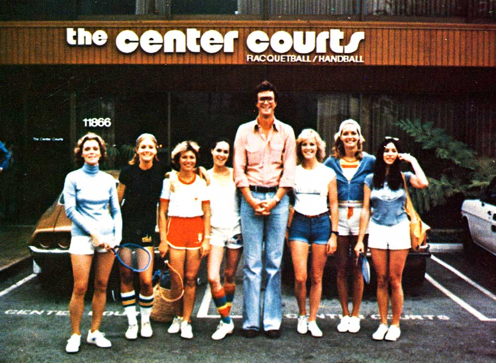 Picture of Michael Crichton at The Center Courts