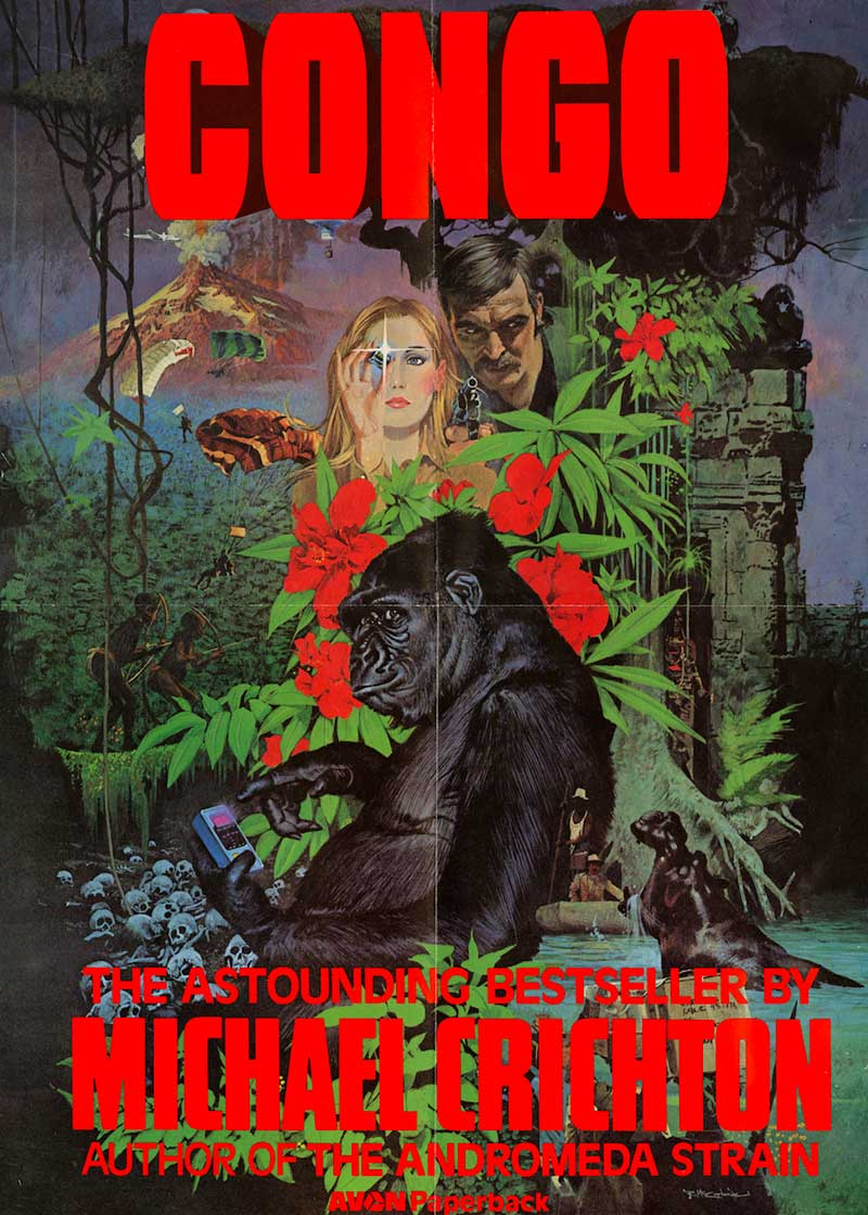 congo the novel and the movie And thus, this week, we have the blu-ray release of congo, the notorious 1995  talking-ape turkey adapted from the michael crichton novel.