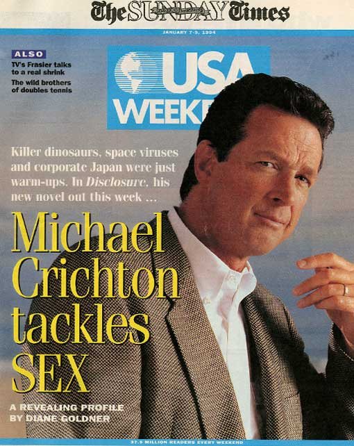Michael Crichton - USA Weekly - 1994