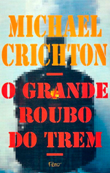 The Great Train Robbery Book Cover - Brazil