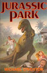 Jurassic Park Book Cover - Italy