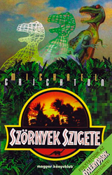 The Lost World Book Cover - Hungary