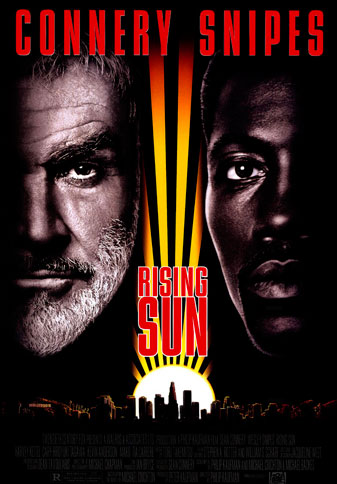 Rising Sun based on the novel by Michael Crichton