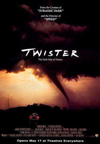 Twister written by Michael Crichton