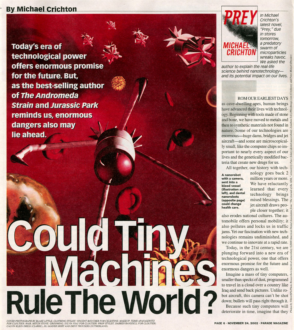 Could Tiny Machines Rule the World? - Parade Magazine