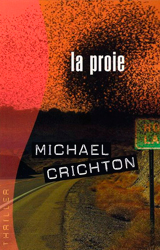 Prey Book Cover - France
