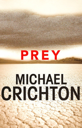 Prey Book Cover - United Kingdom