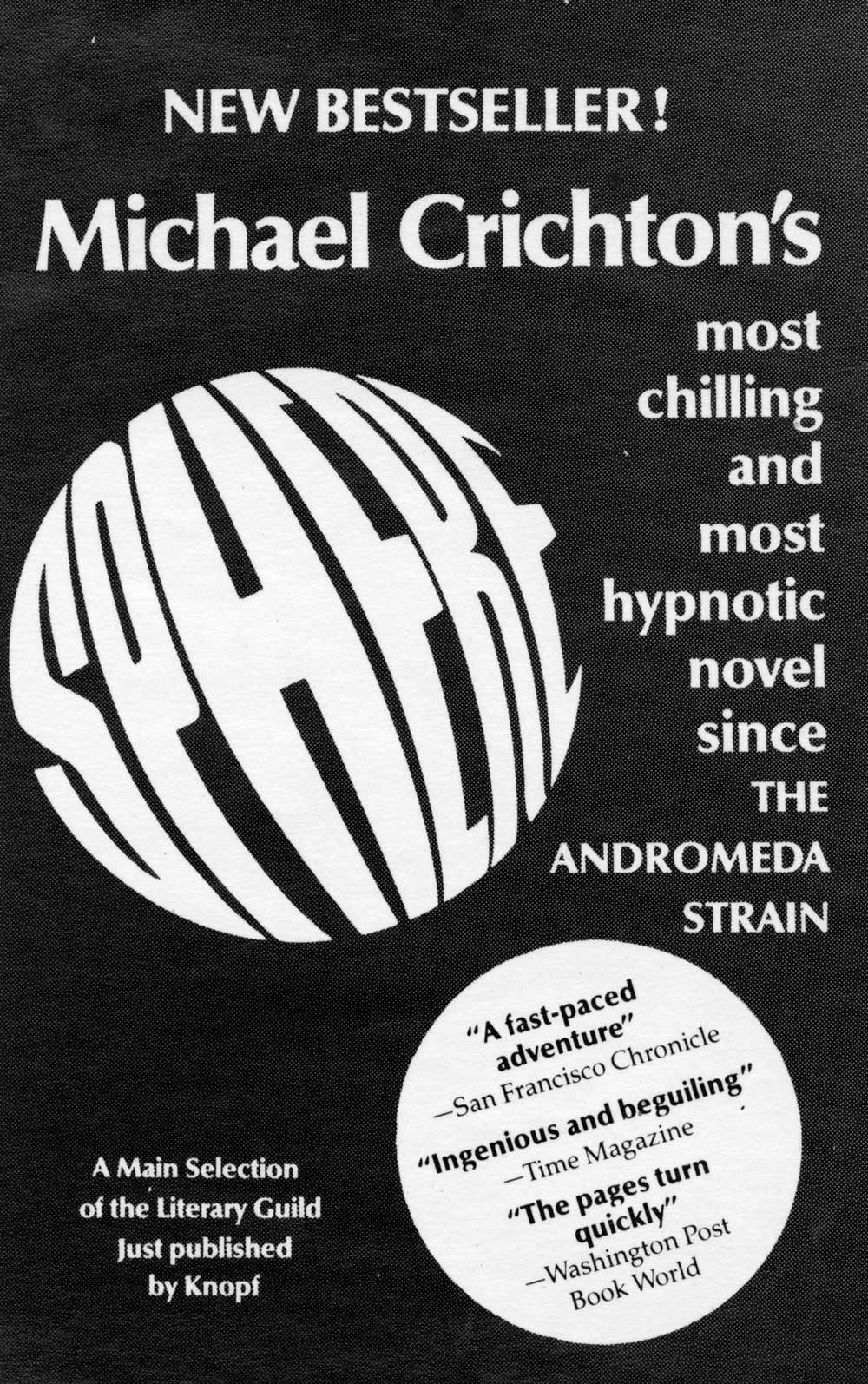 Publisher Promo ad for SPHERE