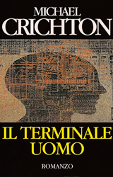 The Terminal Man Book Cover - Italy