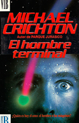 The Terminal Man Book Cover - Spain