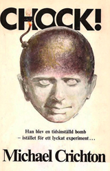 The Terminal Man Book Cover - Sweden