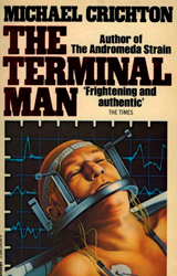 The Terminal Man Book Cover - United Kingdom
