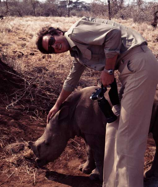 Michael Crichton in Africa