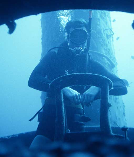 Michael Crichton Scuba Diving