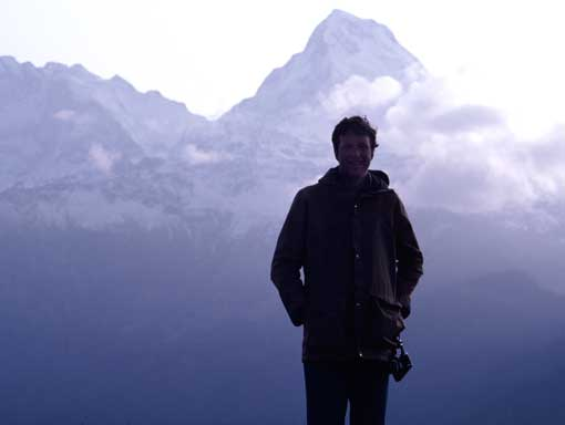 Michael Crichton at Mount Kilamanjaro