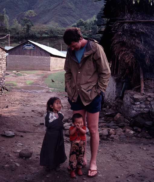 Michael Crichton in Nepal