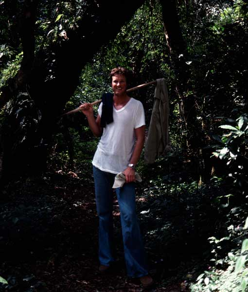 Michael Crichton in the Rainforest