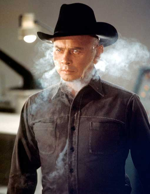 Yul Brynner in Westworld, 1973